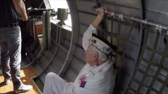 Badass WWII Veteran Who Survived Pearl Harbor Flies In A B-17 Bomber For His 99th Birthday