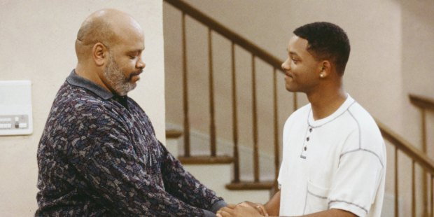 Will Smith And Uncle Phil From The Fresh Prince Of Bel-Air