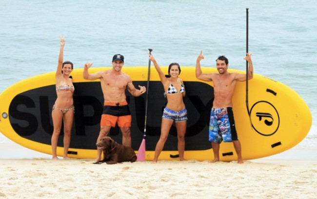 world's largest stand up paddleboard
