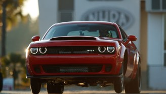 2018 Dodge Challenger SRT Demon Is A Soul-Devouring Beast With 840-HP That Does Wheelies