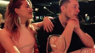 Billionaire Futurist Elon Musk Is Apparently Dating Amber Heard, Johnny Depp's Ex