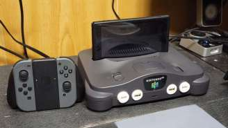 Here's How To Turn An Old Nintendo 64 Into A Dock For A 'Nintendo Switch 64'