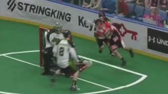 This Diving NLL Lacrosse Goal Is The Best Lax Goal You'll See Today