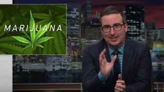 John Oliver Has An A++ Rant About The Hypocrisy Of U.S. Marijuana Laws