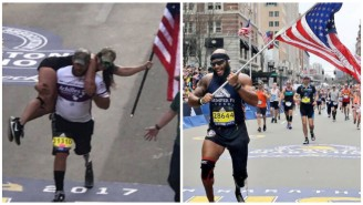 AMAZING Moments Wounded Veterans Cross Finish Line Of The Boston Marathon