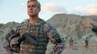 Watch Brad Pitt As Four-Star General In First Trailer For Netflix's 'War Machine'