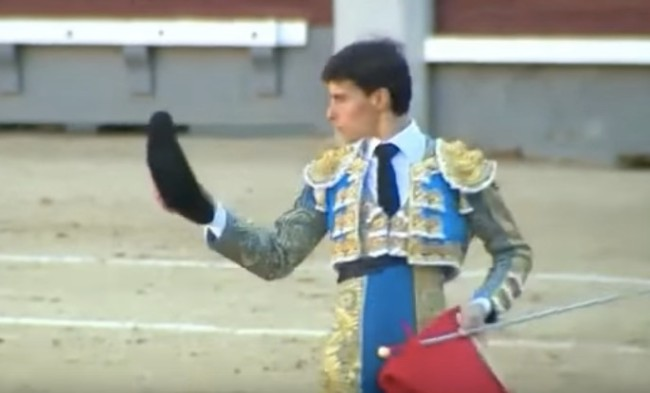 bullfighter gored