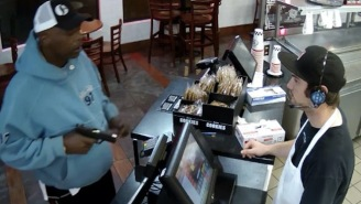 Cashier Robbed At Gunpoint DGAF About The Gun In His Face, Handles It Like A Champ