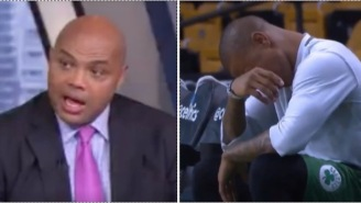 The Internet Did Not Take Kindly To Charles Barkley's Comments About Isaiah Thomas Crying On Court Over His Dead Sister
