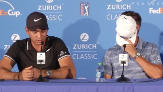Jason Day Basically Confirms That Rickie Fowler Is Dating Allison Stokke During Zurich Classic Presser
