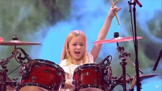 10-Year-Old Wins 'Denmark's Got Talent' With Kick-Ass Covers Of Led Zeppelin And Rage Against the Machine