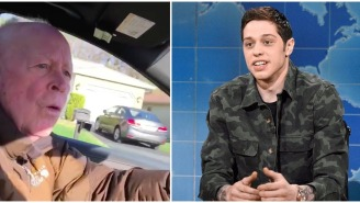 SNL's Pete Davidson Makes His Grandfather's Dreams Come True By Letting Him Drive His Mercedes-Benz S-Class