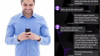 Man Trolls A Wrong Number Text From An Angry, Belligerent Wife