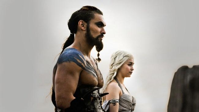 Drogo and Daenerys Targaryen
