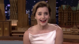 Emma Watson Embarrassed The Crap Out Of Herself And Jimmy Fallon The First Time They Met
