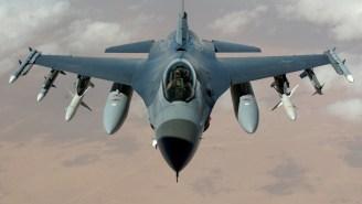 F-16 Fighter Jet Crashes Near Washington D.C.