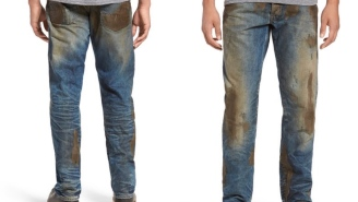 Nordstrom's Selling Jeans Covered In Fake Mud For $425 And People Are Losing Their Minds