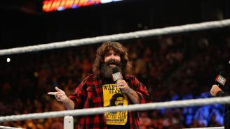Former WWE Wrestler Mick Foley Had A Hip Replacement And Shared A Pic Of His GNARLY Scar