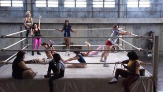 The First Pics Of Alison Brie In Her New Netflix Pro Wrestling Comedy 'GLOW' Look Pretty Great