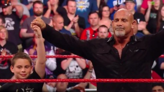 Goldberg Delivered An Emotional Speech After 'RAW' Went Off The Air, Basically Retiring