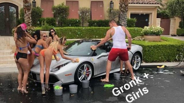 gronk 3lau music video