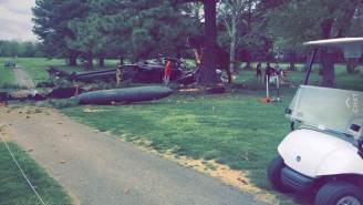 U.S. Army Helicopter Crashes On Maryland Golf Course