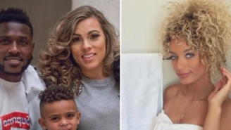 Model Jena Frumes Blasts Antonio Brown After He Left Her To Get Back Together With His Pregnant Baby Mama