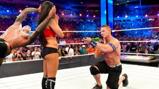 These Photoshops Of John Cena Proposing To Nikki Bella At WrestleMania Are Absolutely A+