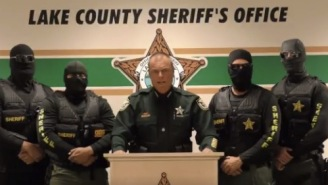 Lake County Florida Sheriff's Department Posted The Most Aggressive Police Video Of All Time