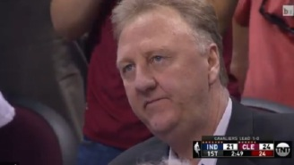 Larry Bird Was Really Pissed When The Pacers Gave Up Fast Break Dunk To LeBron James