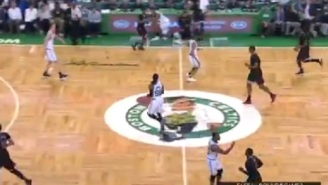 Marcus Smart Flipped Off Fan Sitting Courtside During Game 2 Of Bulls-Celtics Playoff Series