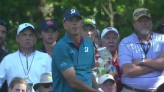 Watch As Matt Kuchar Nails Hole-In-One On 16th At The Masters