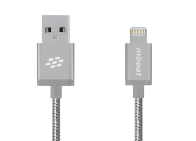 Toughlink MFi-Certified Metal Braided Lightning Cable