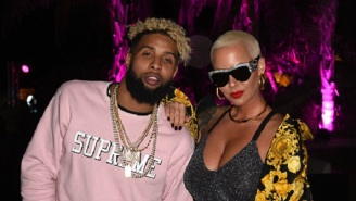 Odell Beckham Jr. Was Late To Kid's Event After Being Spotted In Coachella Partying With Amber Rose