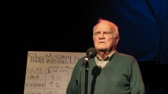 Old Man Scores Perfect 10 In 'The Moth' Story Telling Contest With Hilarious 'Love Hurts' Story