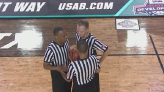 The Internet Trashes Refs At NCAA Championship Game For Terrible Calls In Second Half
