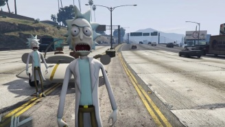 The 'Rick And Morty' Mod For 'Grand Theft Auto V' Is The McDonald's Mulan Sauce Of GTA Mods