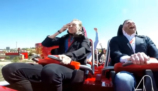 Pigeon Perishes In Roller Coaster Accident at Ferrari Land