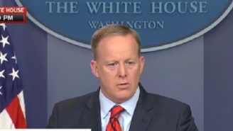The Internet Mocks Sean Spicer For Saying Hitler Didn't Use Chemical Weapons 'On His Own People'