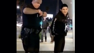 Skrillex Got Handcuffed For Playing His Music Too Loud In Traffic And A Fan Filmed Everything