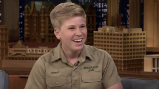 Steve Irwin's Son Was On 'Fallon' And It's Crazy How He's A Spitting Image Of His Father