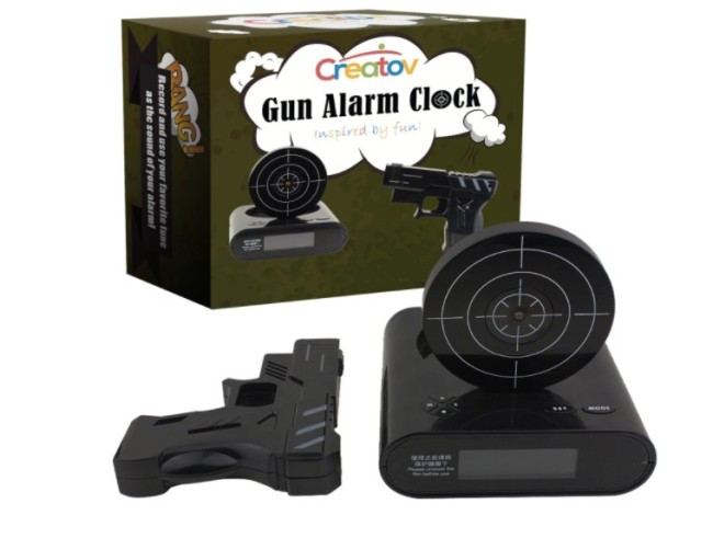 things we want infrared laser alarm clock