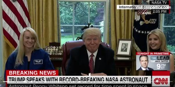 Trump Astronauts