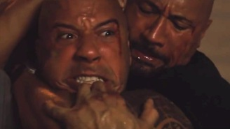Vin Diesel Thinks He Could Take Down The Rock In An Actual Fight? Ha! Good One, Vin