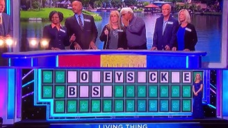 This Might Not Be The Worst 'Wheel Of Fortune' Fail Ever, But It's Certainly One Of The Weirdest
