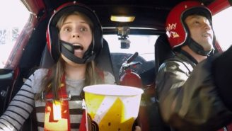 'Fast and Furious' Superfans Tricked Into Taking Crazy, Fiery Surprise Stunt Drive