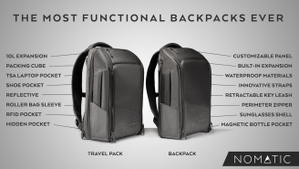 Two Bros Created The World's Most Functional Backpack And It's Exploding On Kickstarter Right Now