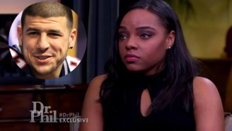 Aaron Hernandez's Fiancee Spoke To Dr. Phil About The Suicide, The Gay Rumors, The Note And Much More