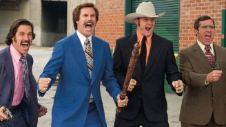 Original Version Of 'Anchorman' Featured Killer Orangutans And Chinese Throwing Stars