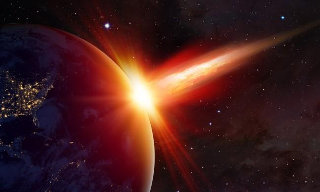 archaeologist giant meteor end all life